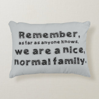 Normal Family Accent Pillow