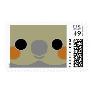 Normal Female Cockatiel Stamp