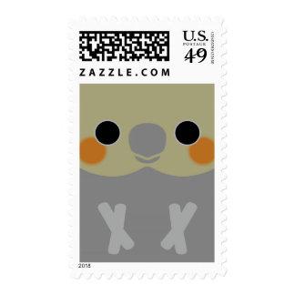 Normal Female Cockatiel Stamps