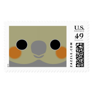 Normal Female Cockatiel Postage Stamp