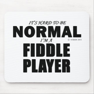 Normal Fiddle Player Mouse Pad