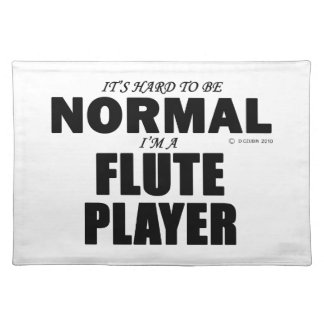 Normal Flute Player Place Mats