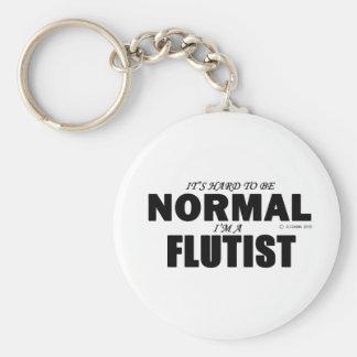 Normal Flutist Keychain
