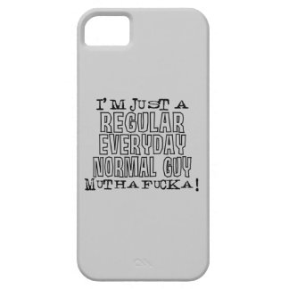Normal Guy iPhone 5 Cases