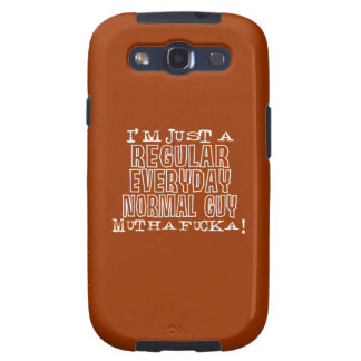 Normal Guy Samsung Galaxy SIII Covers