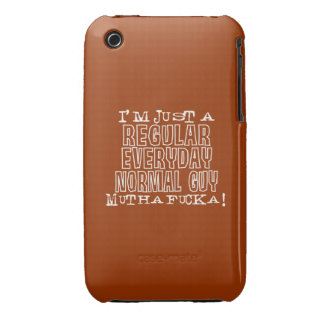 Normal Guy iPhone 3 Case-Mate Cases