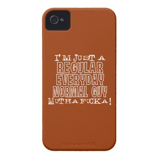 Normal Guy iPhone 4 Case-Mate Cases