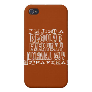 Normal Guy iPhone 4 Cases