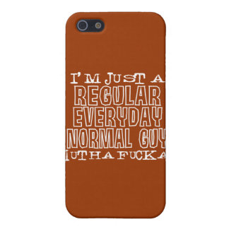 Normal Guy iPhone SE/5/5s Cover