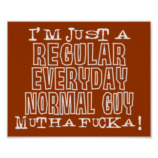 Normal Guy Poster