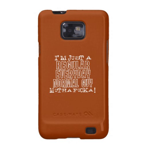 Normal Guy Samsung Galaxy SII Cover