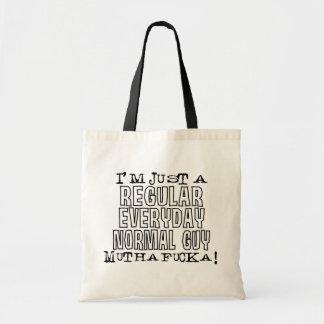 Normal Guy Tote Bag