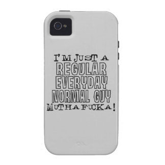 Normal Guy Vibe iPhone 4 Case