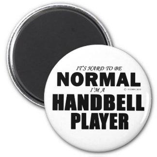 Normal Handbell Player Refrigerator Magnet