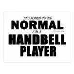 Normal Handbell Player Postcard