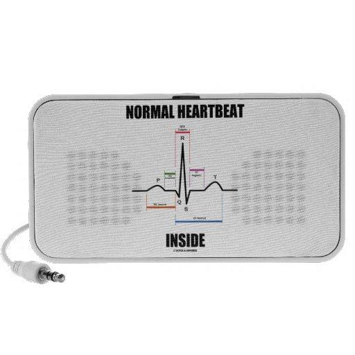 Normal Heartbeat Inside ECG EKG Electrocardiogram Portable Speaker