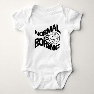 Normal is Boring Baby Bodysuit