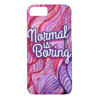 Normal is boring iPhone 8/7 case