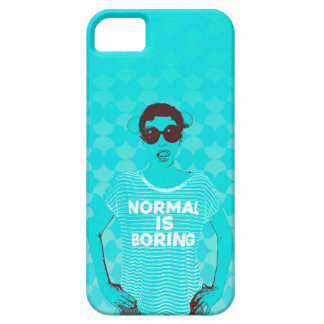 NORMAL IS BORING iPhone SE/5/5s CASE