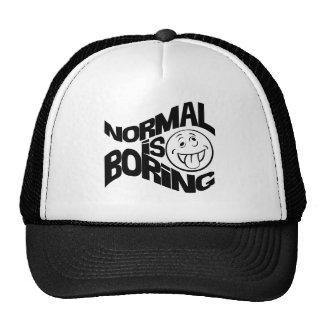 Normal is Boring Trucker Hat