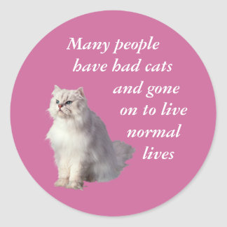 Normal Lives Classic Round Sticker