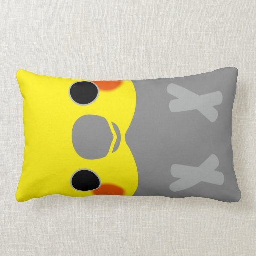 Normal Male Cockatiel Throw Pillows