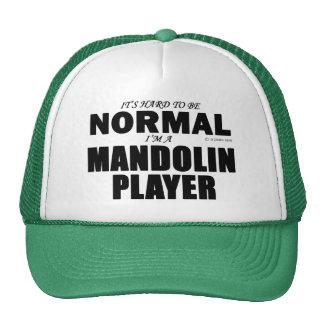 Normal Mandolin Player Trucker Hat