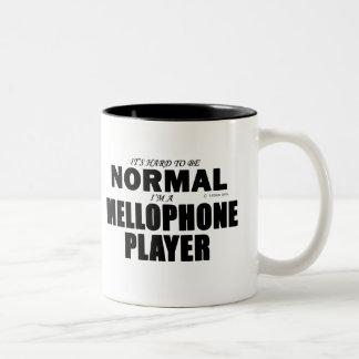 Normal Mellophone Player Two-Tone Coffee Mug