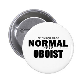 Normal Oboist Pinback Buttons