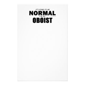 Normal Oboist Personalized Stationery