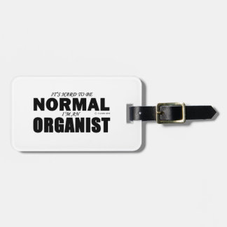 Normal Organist Tags For Luggage