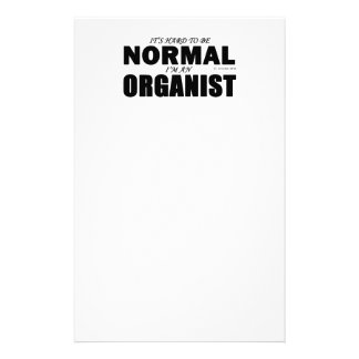 Normal Organist Personalized Stationery