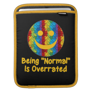 Normal Overrated (autism) iPad Sleeve
