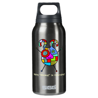 Normal Overrated (customizable) Insulated Water Bottle