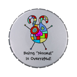 Normal Overrated (customizable) Jelly Belly Tins