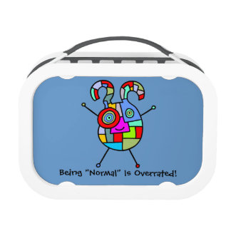 Normal Overrated (customizable) Lunch Box