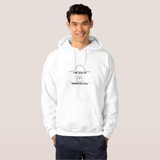 Normal & Paranormal Distribution Math Graph Ghost Hoodie