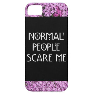 Normal People Scare Me Iphone 5/5S Case