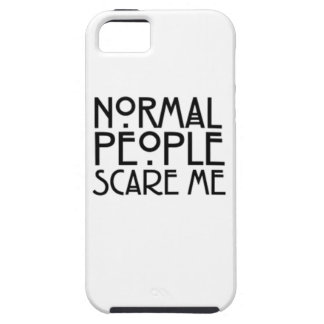 normal people scare me iPhone SE/5/5s case