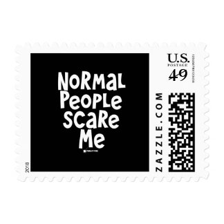 Normal People Scare Me Stamps