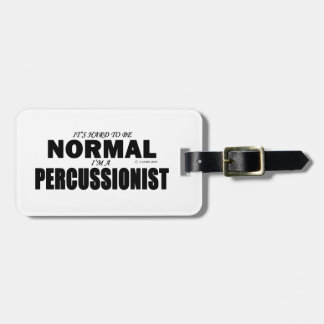Normal Percussionist Luggage Tag