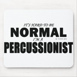 Normal Percussionist Mouse Pad