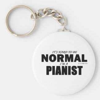 Normal Pianist Keychain