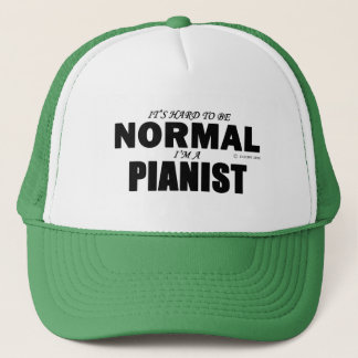 Normal Pianist Trucker Hat