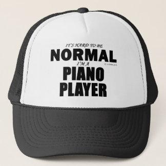 Normal Piano Player Trucker Hat