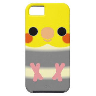 Normal Pied Cockatiel iPhone SE/5/5s Case