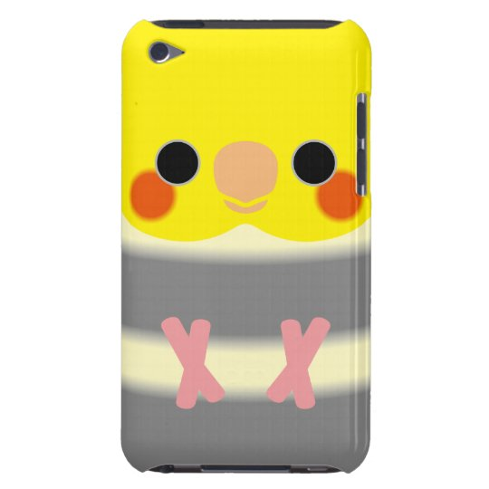 Normal Pied Cockatiel iPod Touch Case