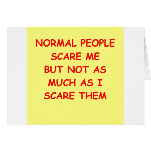 NORMAL.png Greeting Card