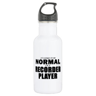 Normal Recorder Player Water Bottle
