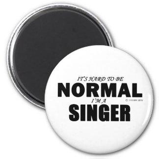 Normal Singer 2 Inch Round Magnet